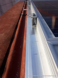Instalación fotovoltaica nave 10kw