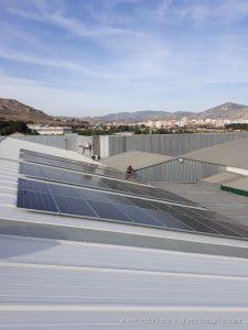 Instalación fotovoltaica nave 40kw