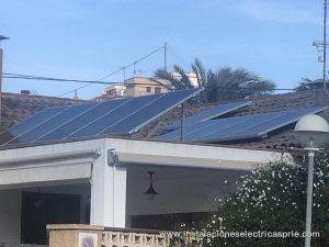 Instalación fotovoltaica vivienda 8kw